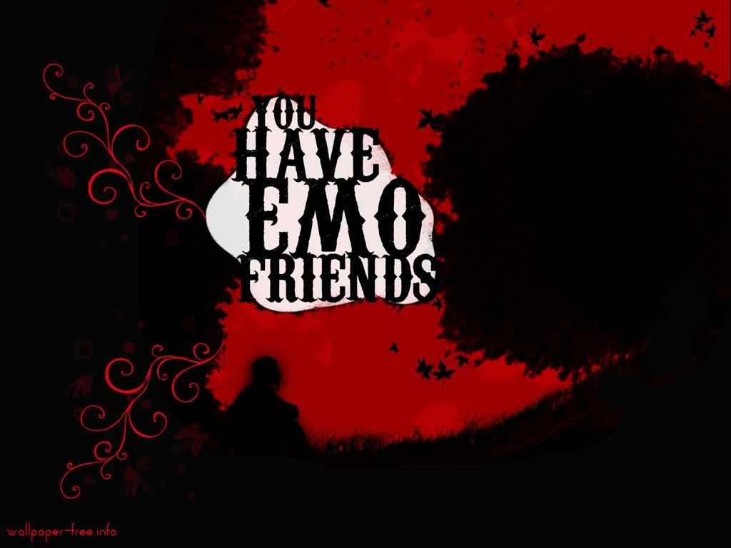 Red And Black Wallpapers Emo